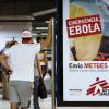 Ebola:100 millions d'euros pour «agir»d'ici mi-2015 selon MSF